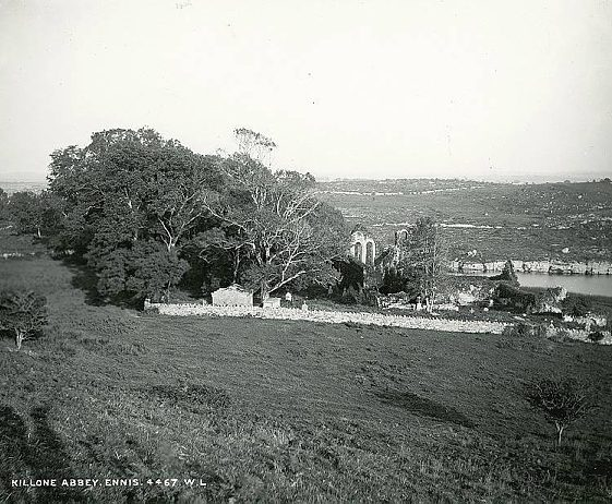 Killone Abbey | Image Courtesy of the National Library of Ireland