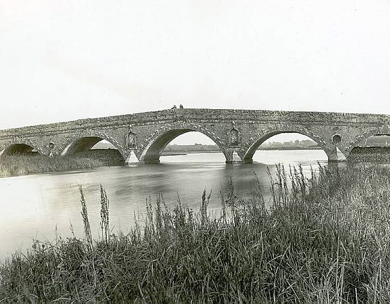 Clare Bridge by George Semple 1780 | Image Courtesy of the National Library of Ireland