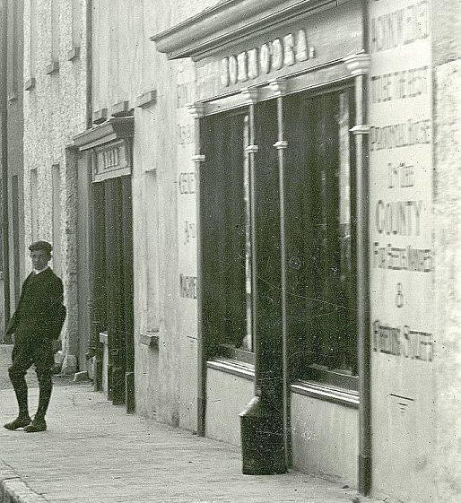 Detail from Main Street, Clarecastle c. 1900 | Image Courtesy of the National Library of Ireland