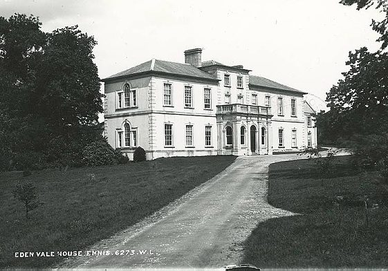 Edenvale House | Image Courtesy of the National Library of Ireland