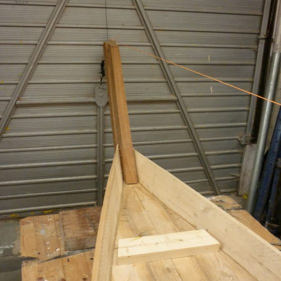 11 Bow piece in place