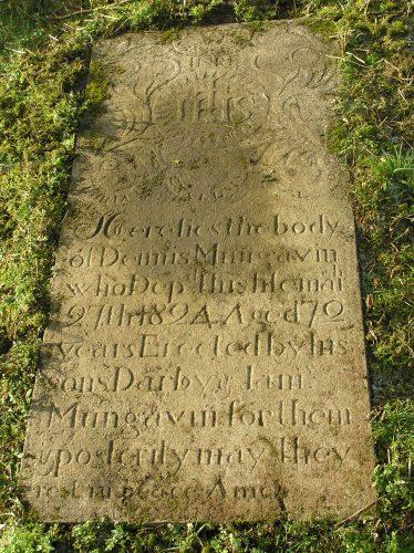 Killone Abbey Gravestone Transcriptions