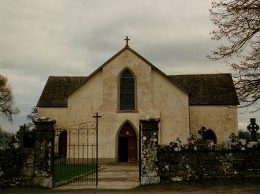 Ballyea Church - courtesy of Cissie Collins