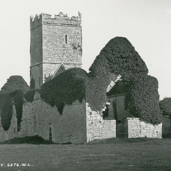 Clare Abbey | Image Courtesy of the National Library of Ireland