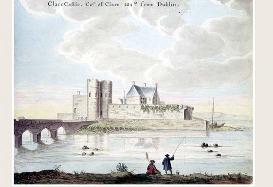 Clarecastle in Old Drawings