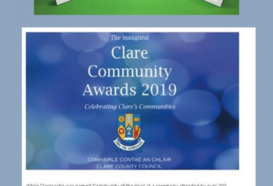 Clare's Community of the Year 2019 - Clarecastle