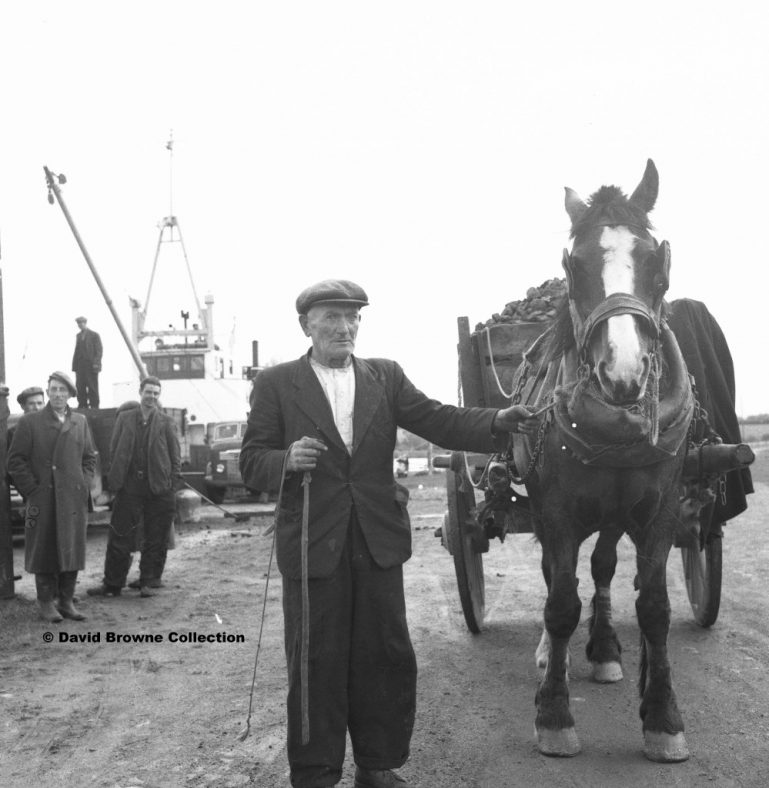 Clarecastle Quay c 1958 Photo courtesy of David Browne