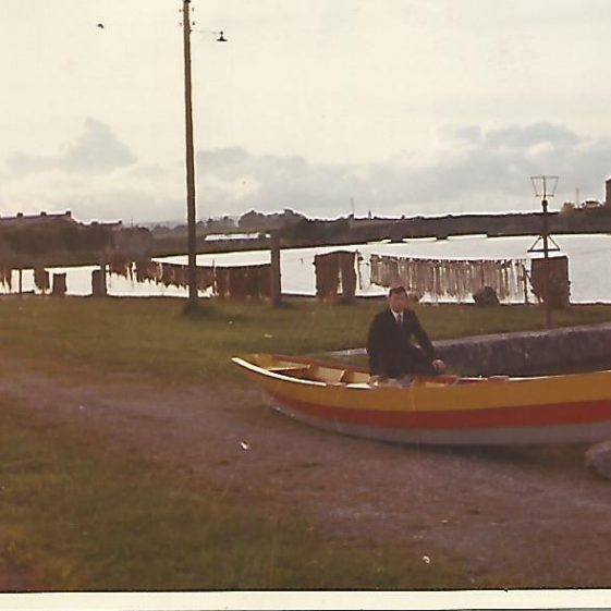 Eric Shaw at Clarecastle Quay