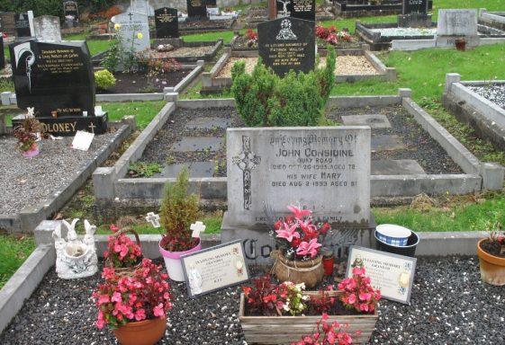 Clare Hill (2) Gravestone Transcriptions
