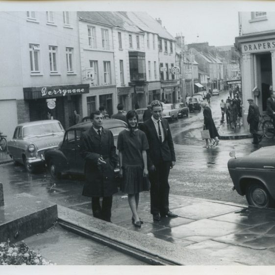 O'Connell St Ennis. 1964 Eric Shaw,  Pat Moloney
