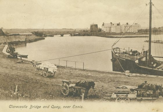 Shipping at the Port of Clare - the s.s. Briarthorn