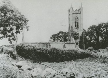 St. Mary's Church of Ireland, 1813-1920, courtesy of the late Paddy Murphy