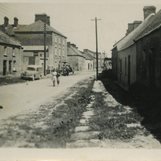 An old photo of the Pound, Clarecastle