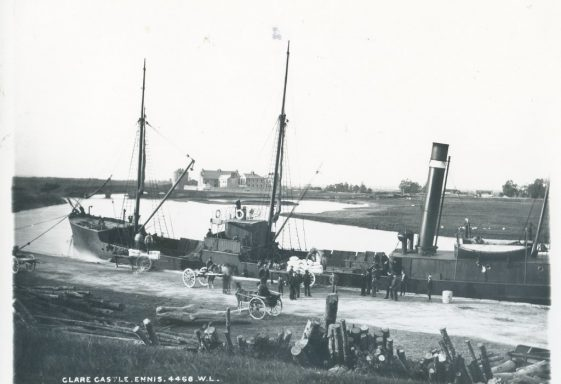 Shipping at the Port of Clare - s.s. Queen's Channel