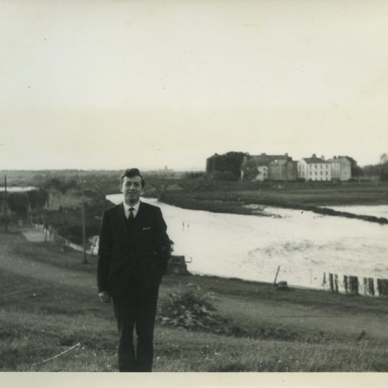 Eric Shaw on Power's Hill, Clarecastle, 1964