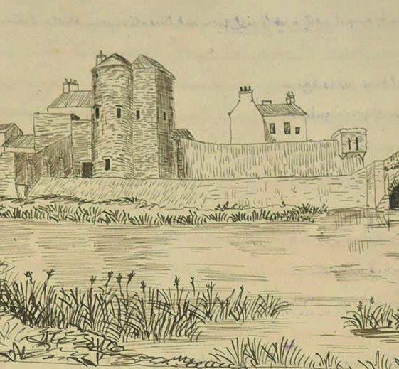 Westropp sketch c.1890 Courtesy of Clare Library