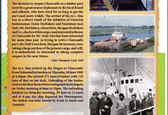 The Last Ship to use the Port of Clare - 26 June 1969