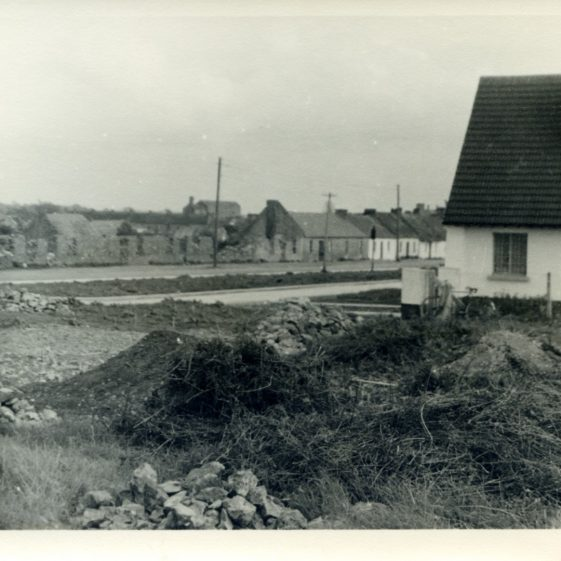 St. Michael's Tce being built with Old Clare Commons across the road 1953 | Sergeant Long