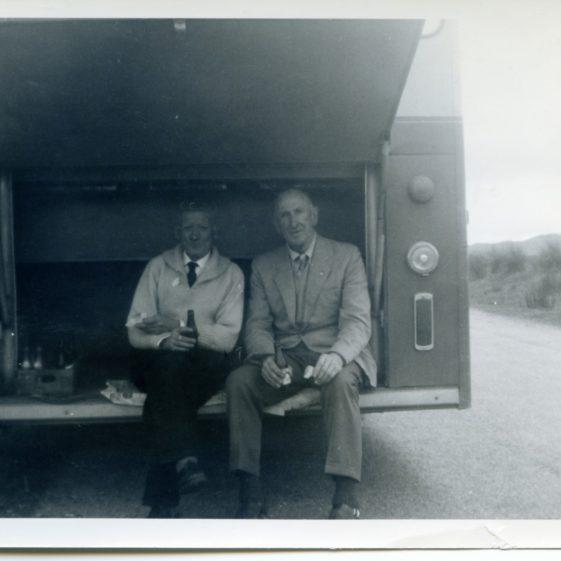 Maam Cross 1964 Peter Dillon and Sergeant Long  | Sergeant Long