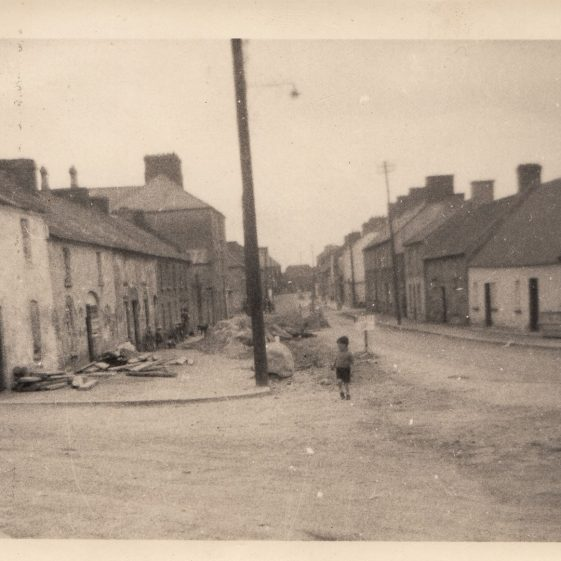 The Pound , now Patrick Street, Clarecastle in the 1950s | Pat Navin