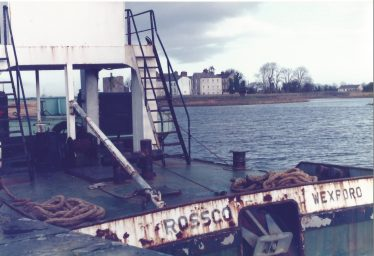 Tugboat at Clarecastle Quay  in the 1980s | Des Ryan