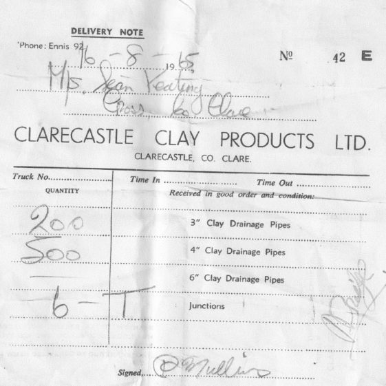 Clarecastle Clay Products  | Pat Mullins