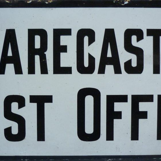 Clarecastle Post Sign  | Gerry McMahon and Imelda Barry