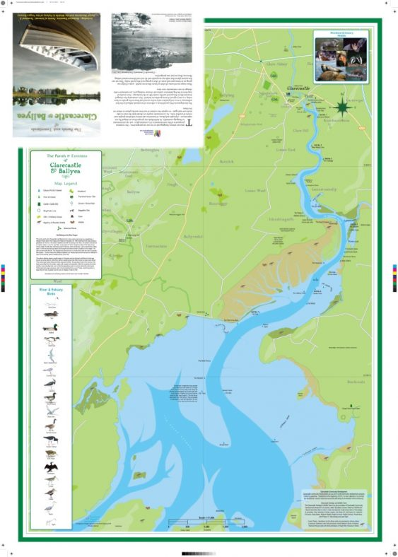 Clarecastle and Ballyea Parish Map - The Fergus Estuary | CBHWG