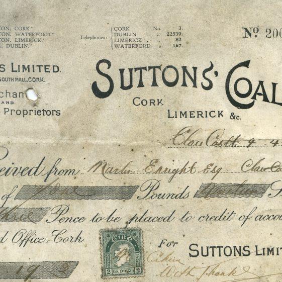 Sutton's Coals | John Power