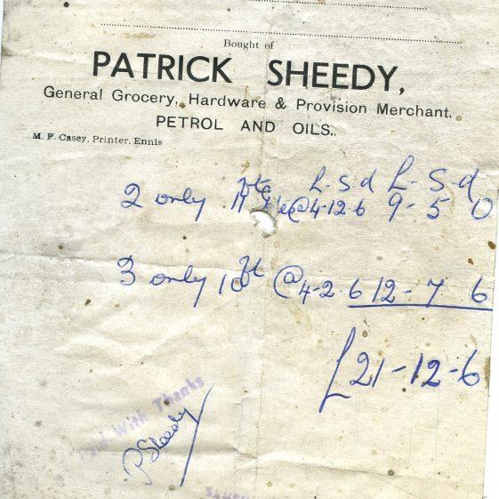 Patrick Sheedy | John Power