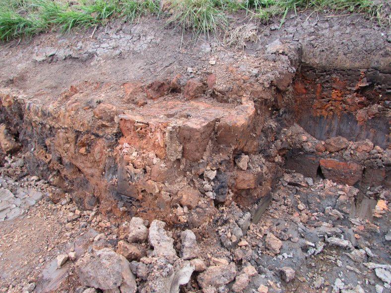 Brick Fields at Clare Abbey | Christy Leyden