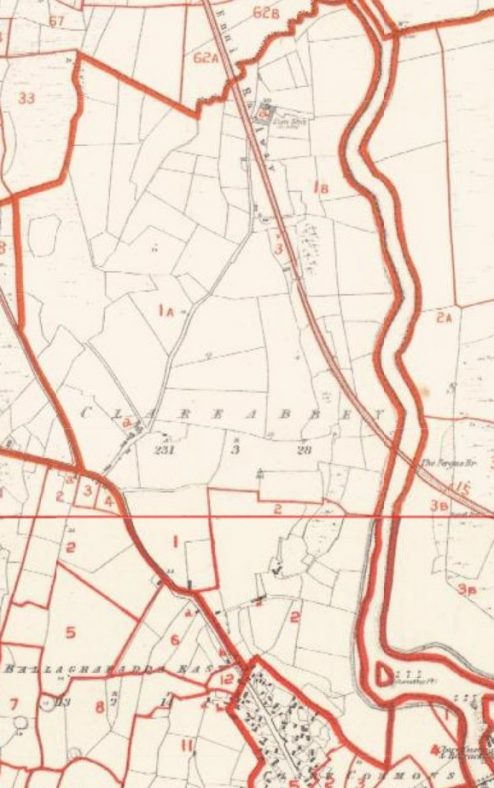 Clareabbey Townland Griffith's Map | Askaboutireland