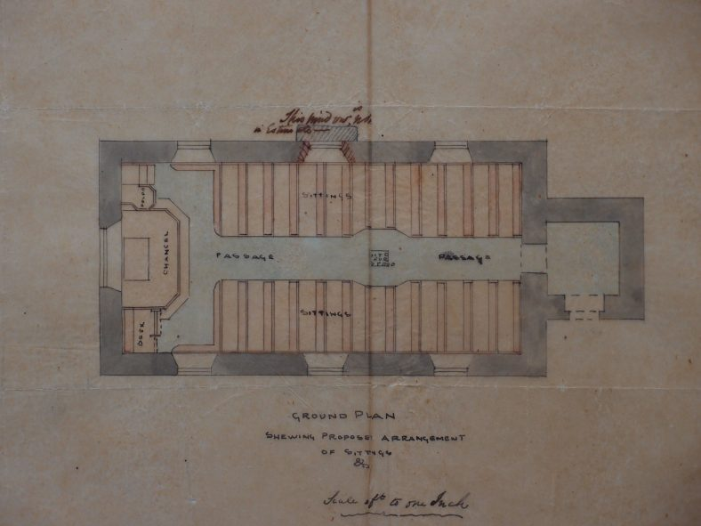 St. Mary's Church -ground Plan | RCB Library
