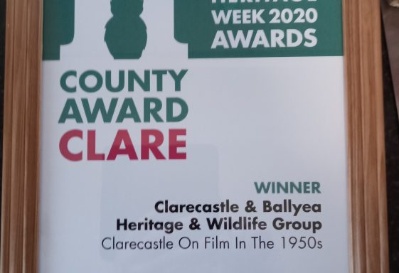 County Clare Heritage Week Award 2020