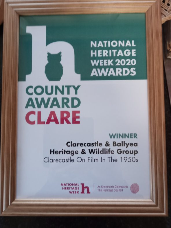 Heritage Council Clare Award 2020