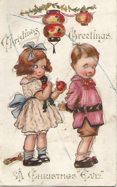 Old Christmas Cards sent to Abbeyview from the early 1900s to the 1930s | Eric Shaw