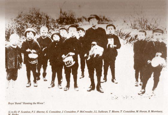 The Wrenboys in Clarecastle