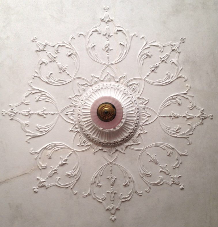 Newhall House - plasterwork | Eric Shaw