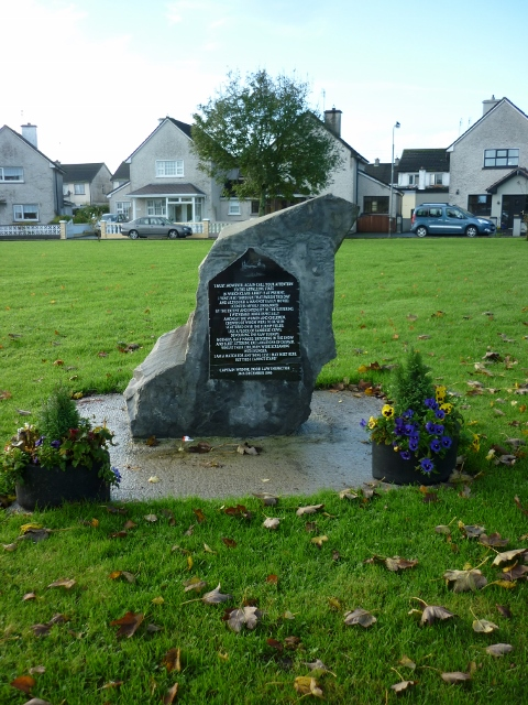 Famine Memorial Stone   Eric Shaw