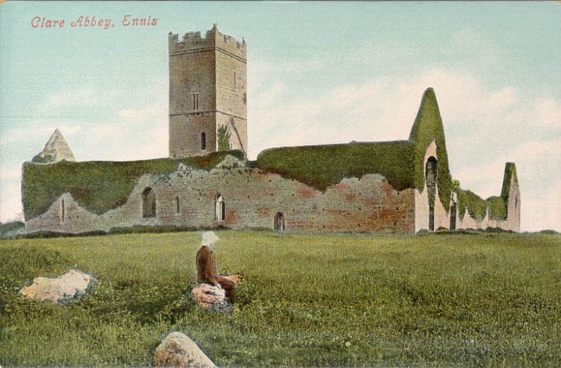 Clare Abbey 1902  | CBHWG Archives