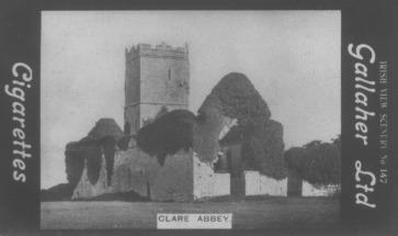 Clare Abbey cig card | CBHWG Archives