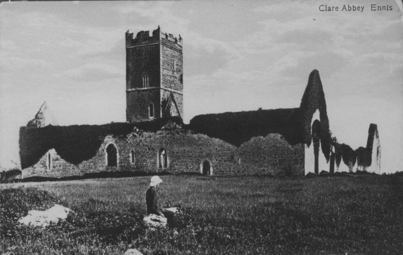 Clare Abbey 1900   CBHWG Archives