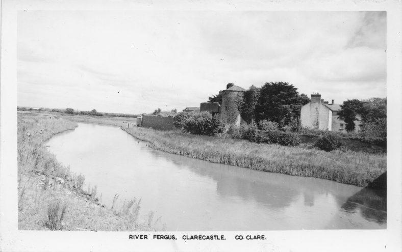 Clare Castle postcard    Gerry McMahon