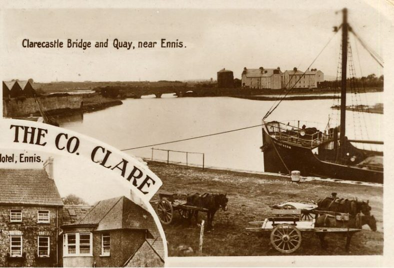 Clarecastle Ennis postcard | CBHWG Archives