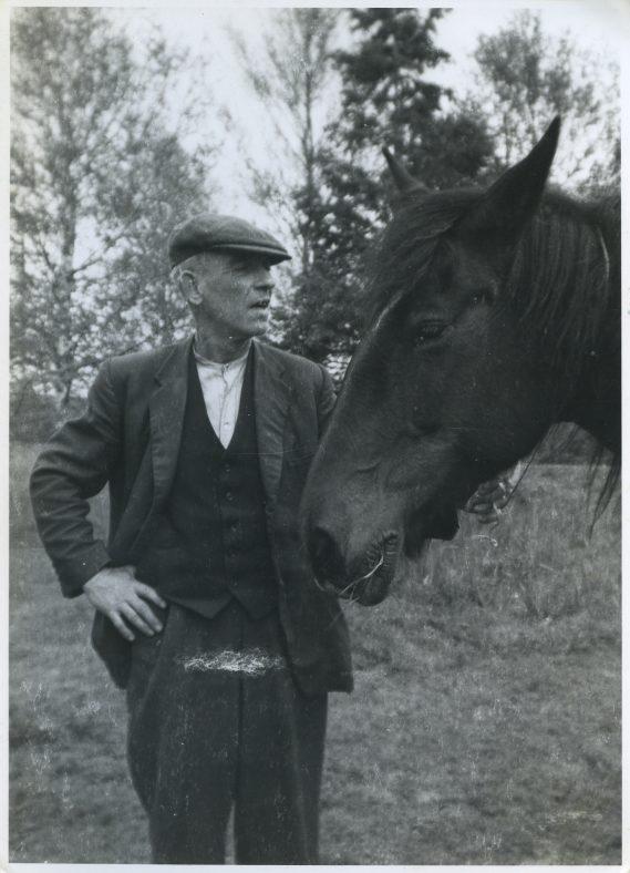 Jack McNamara and his horse Moll | Nora McNamara
