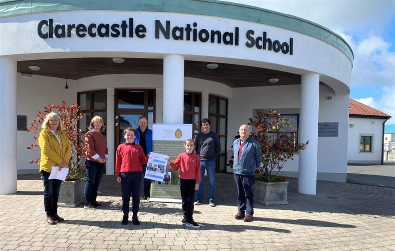 Design a Postcard Competition Launch at Clarecastle School with Pupils, Teachers and members of the Heritage & Wildlife Group | Christy Leyden