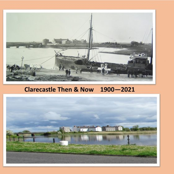 Clarecastle Then and Now 2   CBHWG Archives