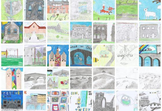 Heritage Week 2021 Project - Parish Schools Design a Postcard Project- Daoine agus Áit