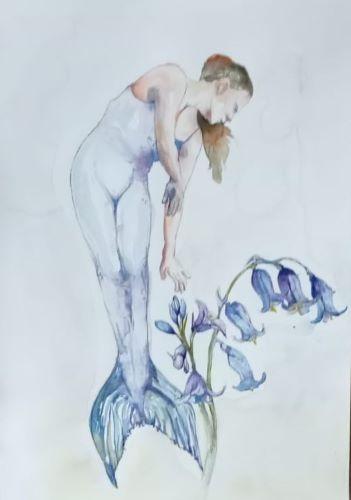Mermaid of Newhall | Original artwork