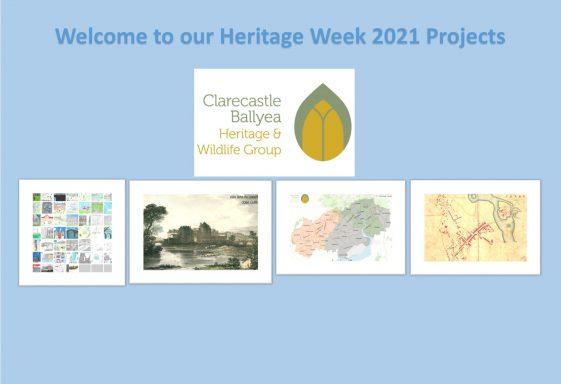 Heritage Week 2021  Project  - Illustrated Parish Timeline - Clarecastle and Ballyea